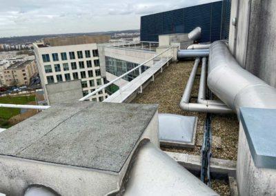 Projet de création d'un dégagement en toiture terrasse – UGAP
