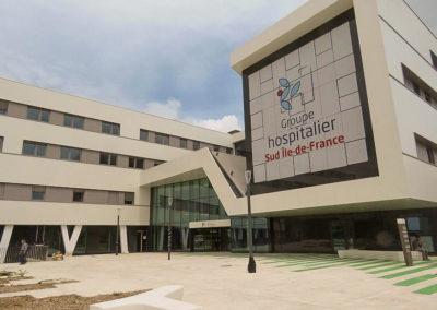 Aménagement d'une nouvelle unité d'hospitalisation (Melun – 77)